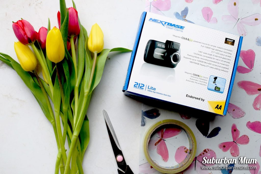 Mother's Day Gift guide: Nexbase 212 Dash Cam
