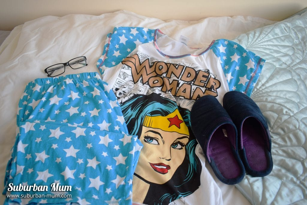 Wonder Woman Pyjamas from The Pyjama Factory