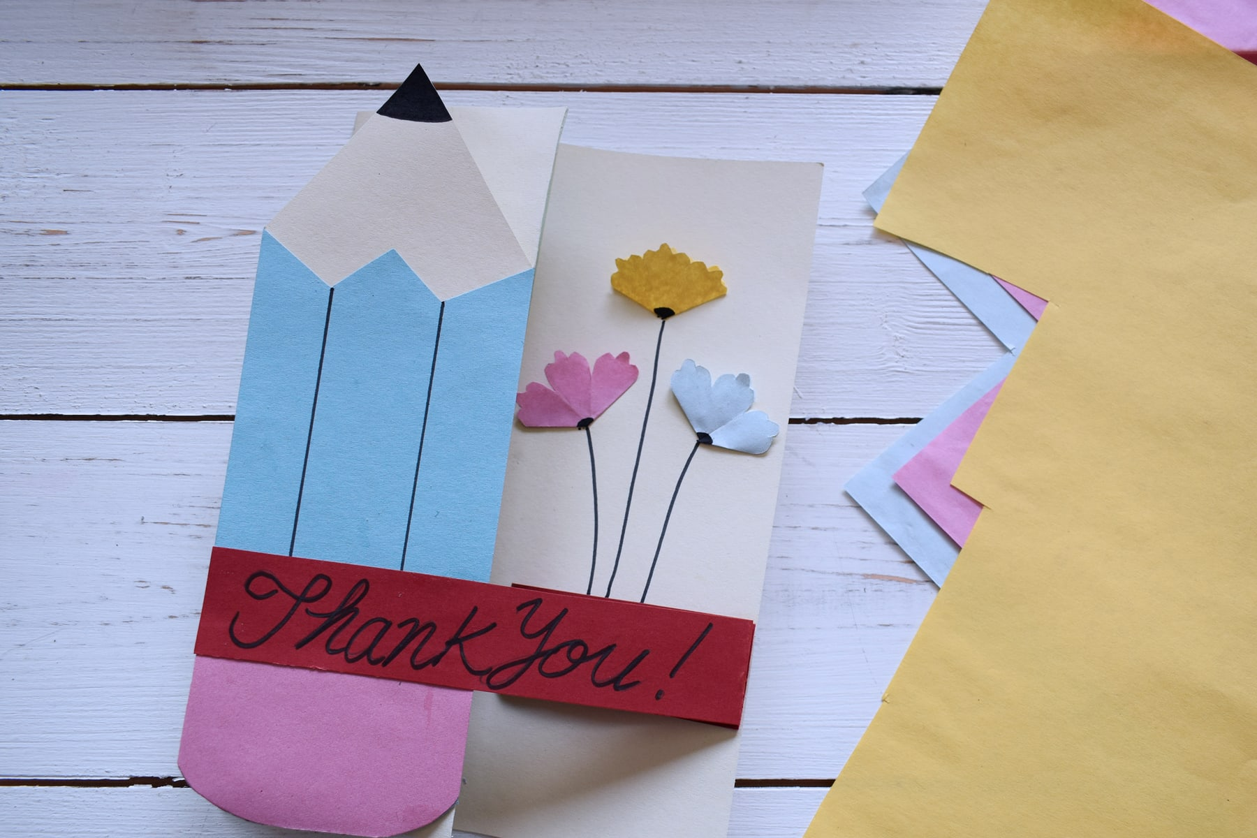 craft corner how to make a thank you card for teachers