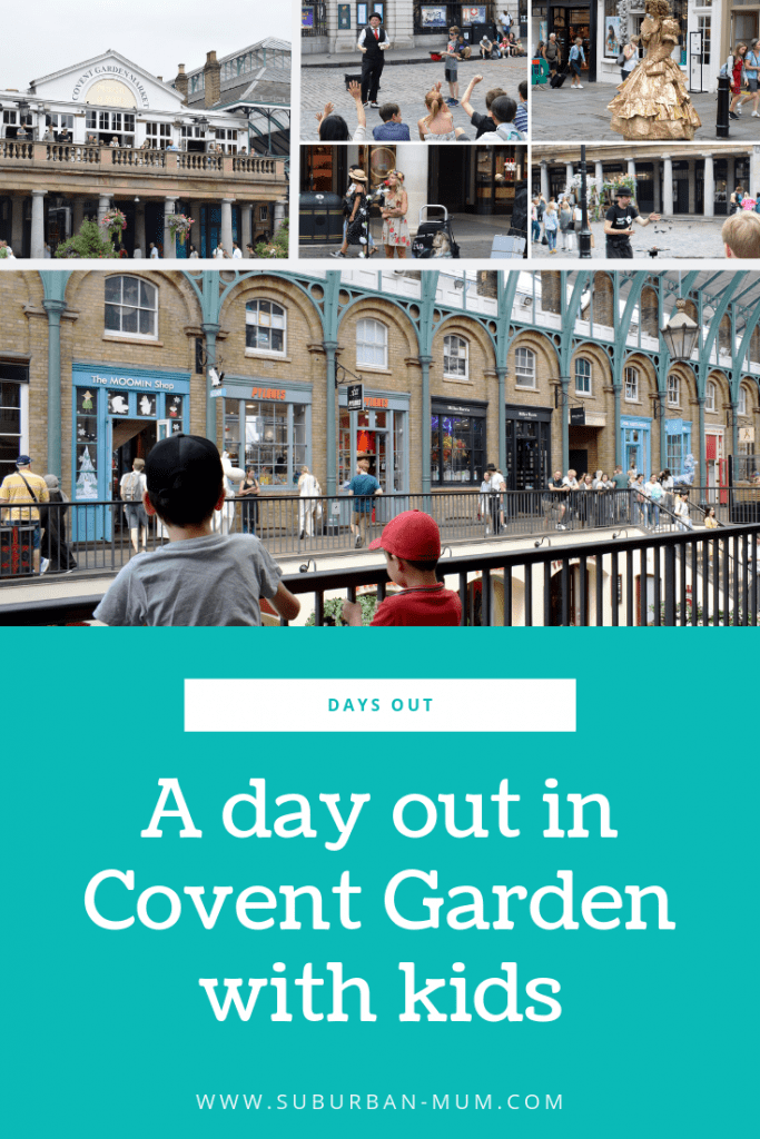 A Day out in Covent Garden with kids