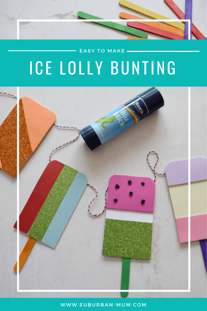 Ice Lolly Bunting