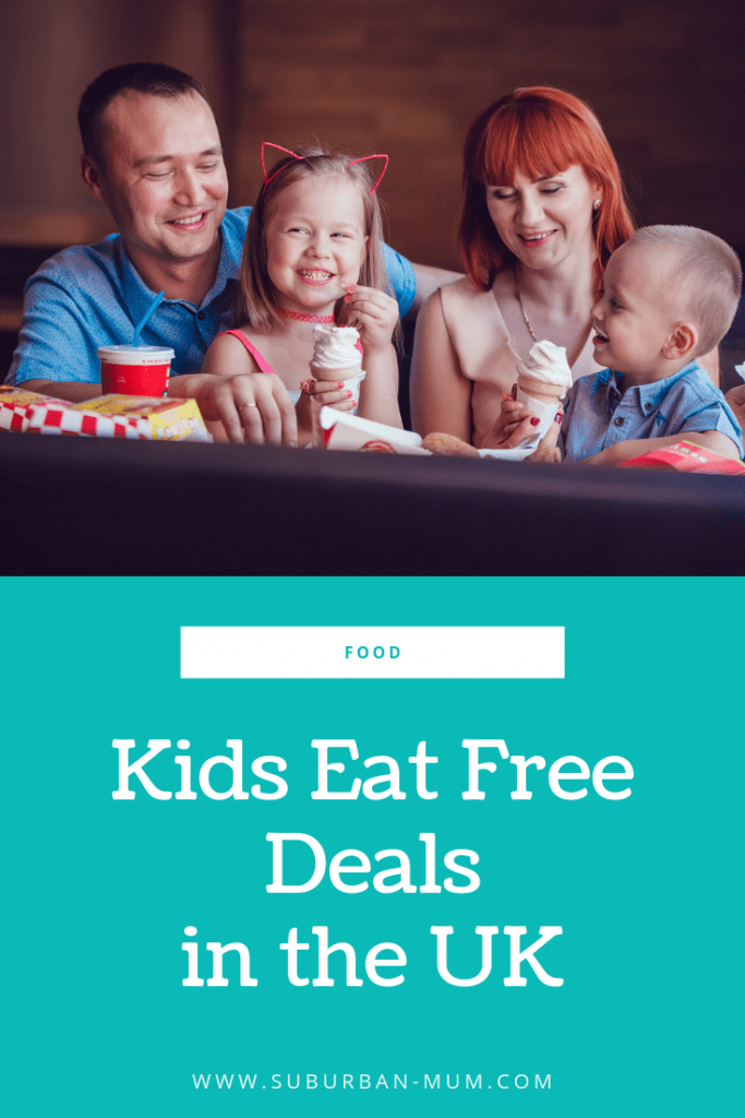 Kids Eat Free Deals in the UK