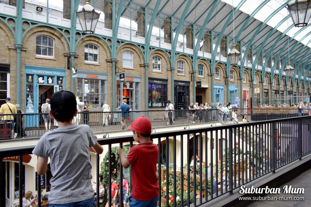 Boys at Covent Garden Market