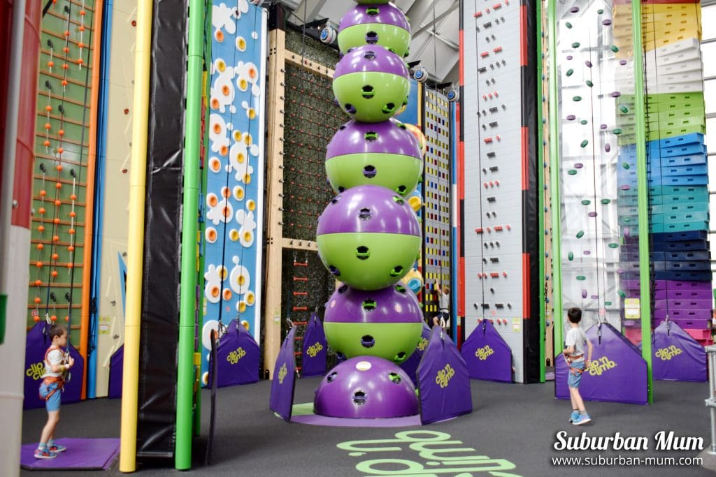 Clip 'n Climb at Wicksteed Park
