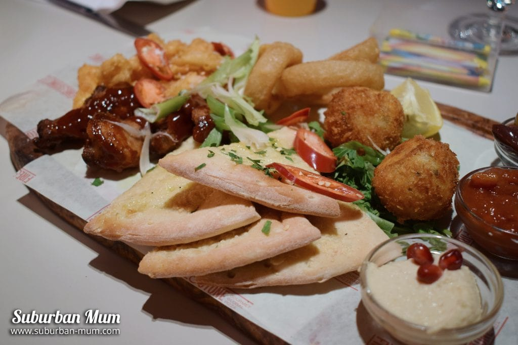Sharing Platter - Fire & Stone Covent Garden