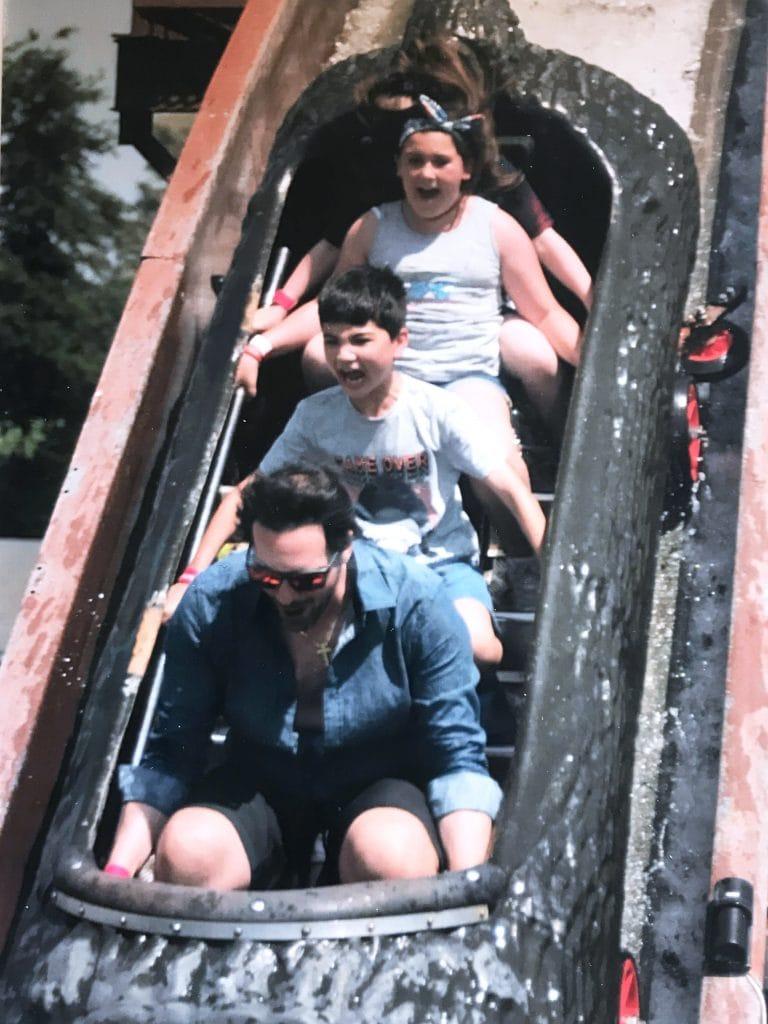 Rocky River Falls ride, Wicksteed Park