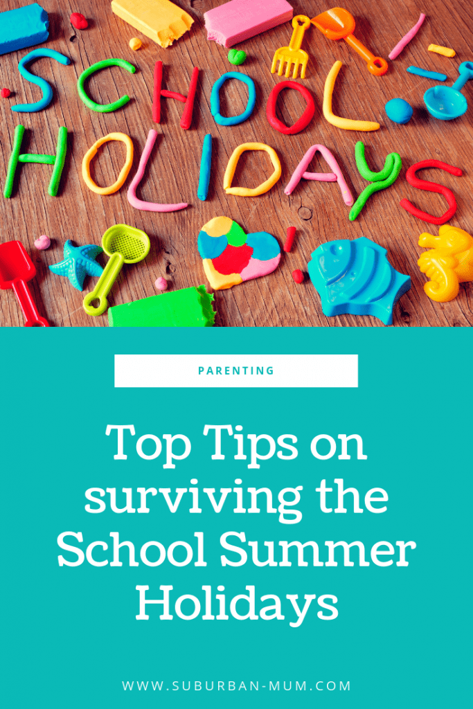Top Tips on surviving the School Summer Holidays