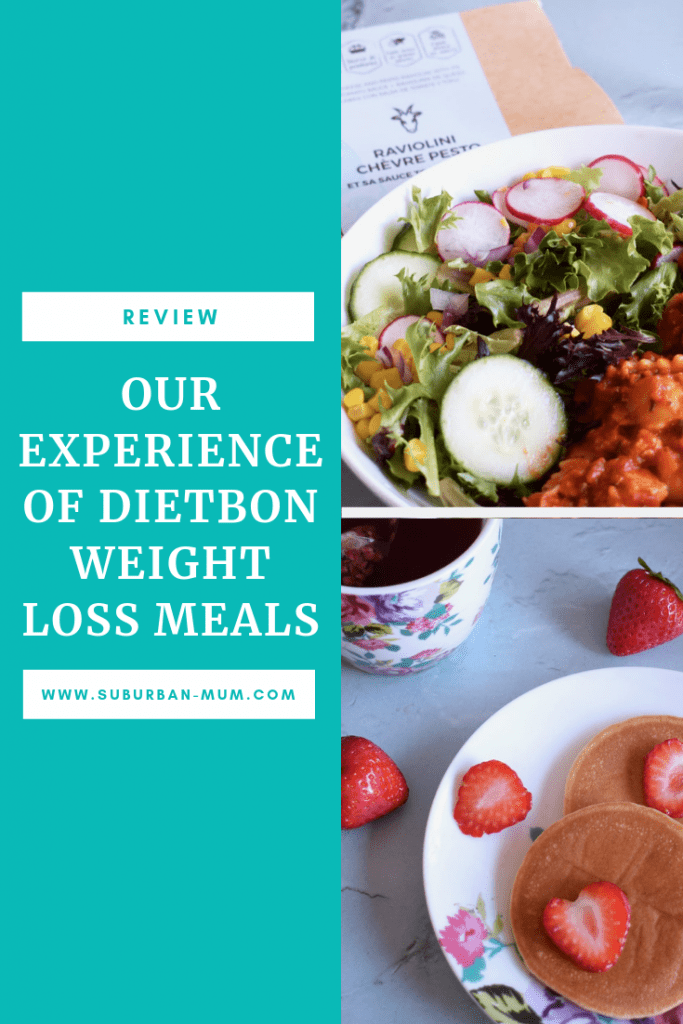 [AD] Our experience of Dietbon weight loss meals