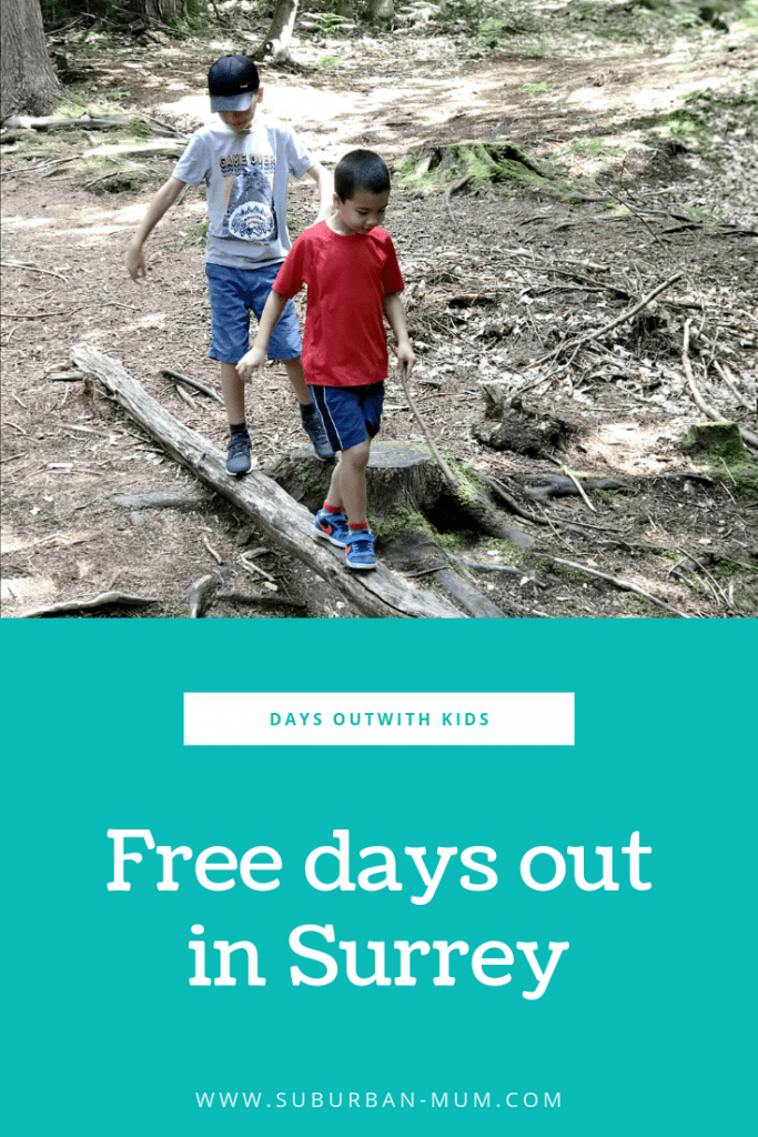 Free days out in Surrey