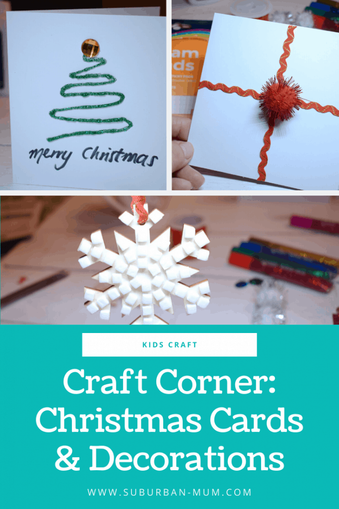 Easy to make Christmas Cards and Decorations