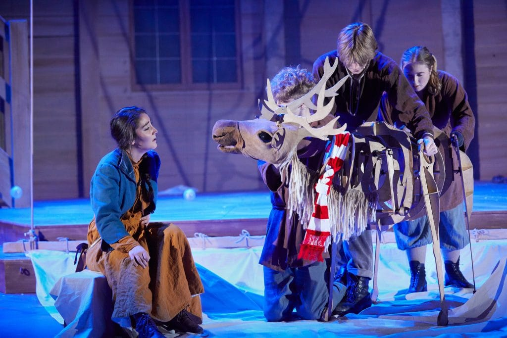 The-Snow-Queen-at-the-Rose-Theatre-gerda
