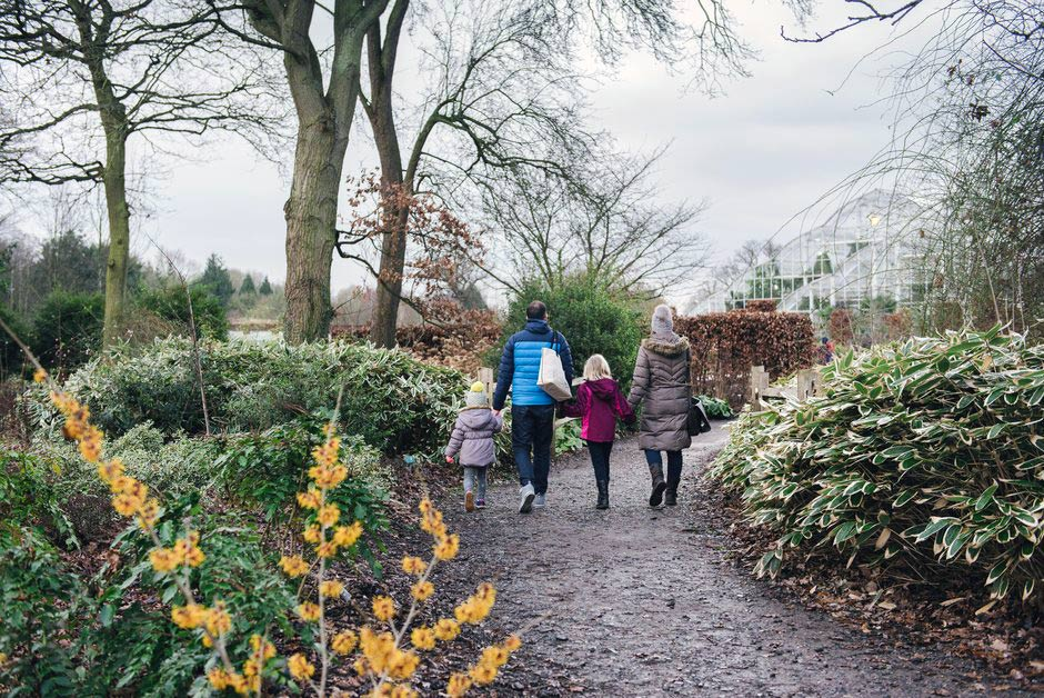 family-in-winter-rhs-wisley