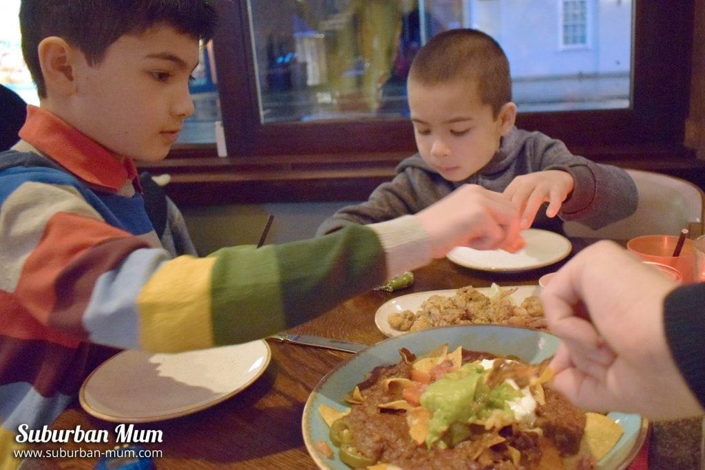 Kids eat free at Las Iguanas