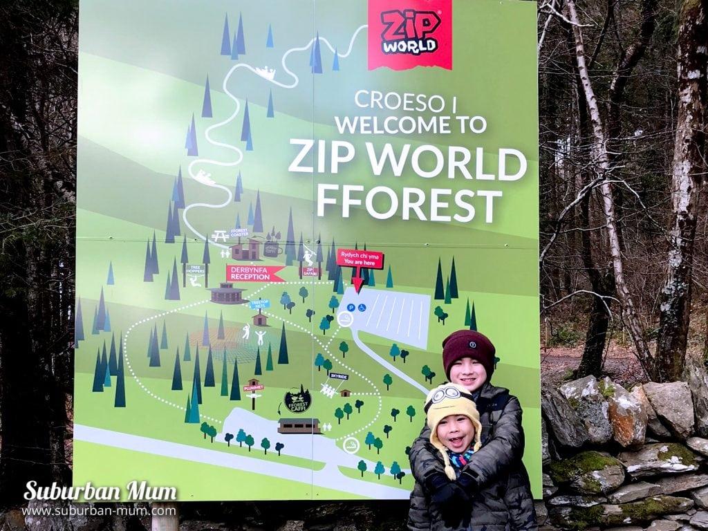 Zip World Fforest, North Wales