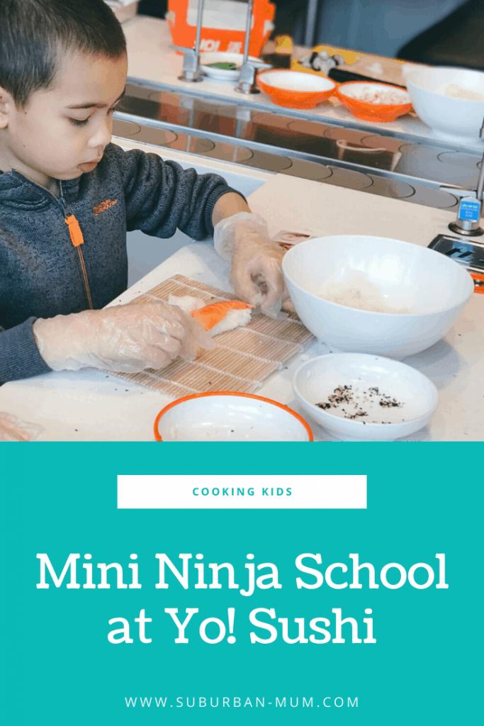 Mini Ninja Sushi School at Yo! Sushi