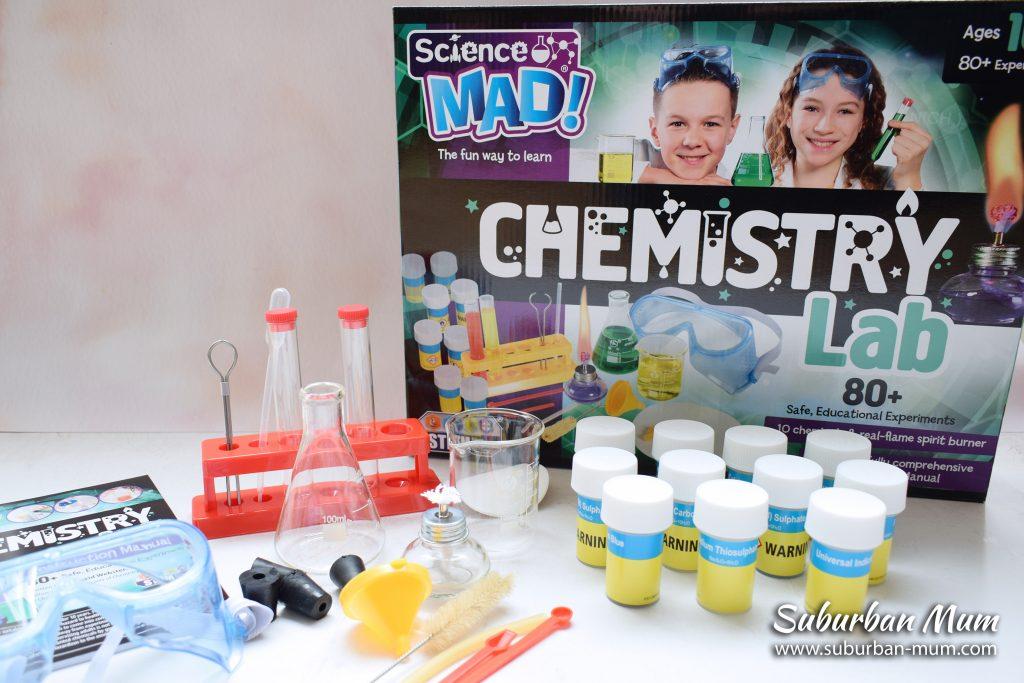 Science Mad! Chemistry Lab kit