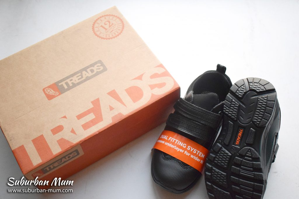 Treads indestructible school shoes - Madrid